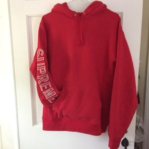 Authentic supreme hoodie